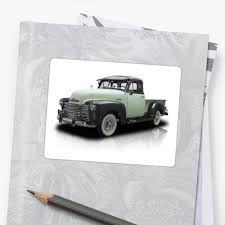 Classic Chevy Pickup Truck Sticker
