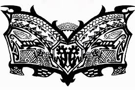 Tribal Chest Tattoo By KEArnold