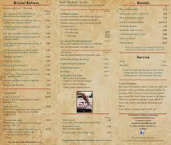 bar furniture el patio menu express menu catering menu 1 cosypatio