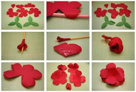 Bits Of Paper Rolled Rose And Easy To Assemble 3d Flowers