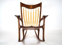 Low Rocker - American (Sam Maloof) Styled Rocking Chair With An ... Rustic Rocking Chairs Hickory Chair With Upholstered Seat Pin By Shop Turman Design Co On Viageprimiveantique Goods Hinkle Company Red Grandis Style Wayfair Home Town Solid Wood Lakkadhaara Handmade Iroko African Teak In Motion Update A Hgtv Absolutely Beautiful Homemade Rocking Chair Gonna Come Back Here Tayyaba Enterprises Decorative Hand Crafted With Wheel Ex Display Argos Fabric Natural In Bradford Collection Buildsimplehome Filedesigns For Homemade Cottage Fniture 1904 Ding Room Wikipedia