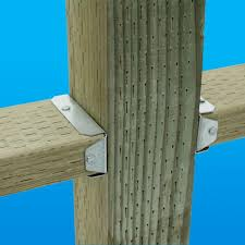 Simpson Decorative Joist Hangers by Simpson Strong Tie Fb 2 In X 4 In Zmax Galvanized Fence Bracket