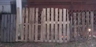 Halloween Cemetery Fence by Pallet Fence