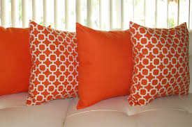 Orange Decor Pillows HOUSE DECORATIONS AND FURNITURE Orange