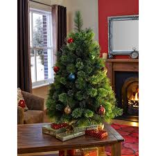 3ft Pre Lit Artificial Christmas Trees by 3ft Pre Lit Christmas Tree Christmas Lights Decoration