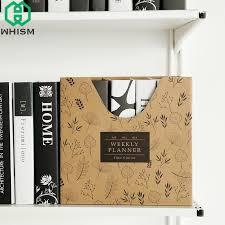 rangement stylo bureau acheter en ligne whism kraft papier organisateur de bureau bricolage