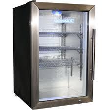 2 Door mercial Fridge And Freezer bo Glass