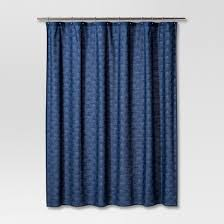 Cherry Blossom Curtain Blue by Shower Curtains U0026 Bath Liners Target
