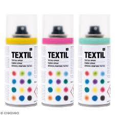 peinture pour tissu canapé peintures en bombe pour tissus 150 ml peinture textile spray