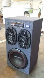 100 Speaker Boxes For Trucks DIY Portable Stereo Tunes DIY Woodworking Projects Diy Speakers