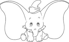 Cartoon Drawings Of Disney Characters Dumbo