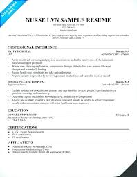 Lpn Resume Sample Pdf Licensed Practical Nurse Tips Companion Free Samples