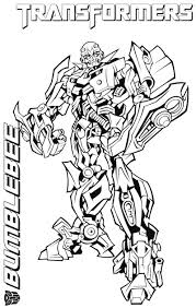 Bumblebee Transformer Coloring Page Pages Futpal Sheets