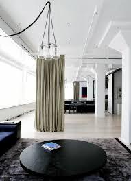 la séparation de pièce amovible optez pour un rideau salons