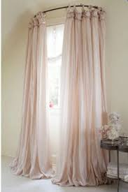 Curved Curtain Rod For Arched Window Treatments by Furniture Wonderful Half Moon Curtain Rods Arched Window