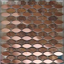 Copper Tiles For Backsplash by Copper Penny Tile Backsplash Zyouhoukan Net