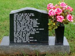 Funny Halloween Tombstones Epitaphs by Unusual Graves Tombstones And Epitaphs Page 4