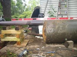 outdoor wood boiler from junk 6 steps with pictures