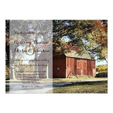 Would You Like To Save On This Rustic Barn And Trees Country Wedding Invitation When Order 25 Or More Oak Tree Invitations