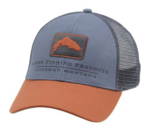 Simms Trout Icon Trucker Cap - Gray