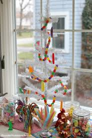 KITCHEN CHRISTMAS TREE This Fun And Whimsy Candy Christmas Tree Is Sure To Brighten