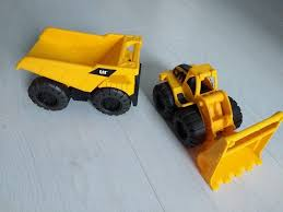 2 X CAT Construction Car / Vehicle Toys Dump Truck And Loader | In ... Tonka Classic Dump Truck Big W American Plastic Toys Gigantic Walmartcom Funrise Toy Toughest Mighty New Hess And Loader For 2017 Is Here Toyqueencom Moover Little Earth Nest Wooden Trucks Cars Happy Go Ducky Yellow Toy Dump Truck Isolated On White Background Stock Photo Photos Pictures Getty Images Amazoncom 16 Assorted Colors Metal Kmartnz Bruder Mack Granite Games