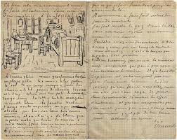 the bedroom letter to paul gauguin from vincent gogh