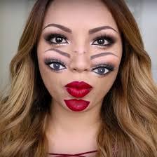 Halloween Half Mask Makeup by 40 Easy Halloween Makeup Ideas U0026 Tutorials 2017 Cool Halloween