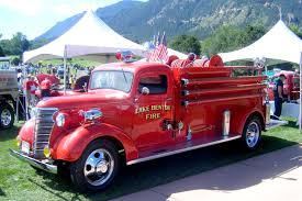 100 Old Fire Trucks Why Fire Trucks Used To Be Red Kimis Blog