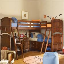 triple bunk bed this could either be brilliant or a huge