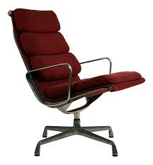 Eames For Herman Miller Burgundy EA 216 Soft Pad Swiveling Lounge Chair Eames Lounge Chair Ottoman In Mohair Supreme Charles Ray Eames Ea124 Ea 125 For Herman Miller Miller Lounge Chair And Ottoman White Ash Mohair Supreme Alinum Group Outdoor 670 Rosewood By Alinium Yellow Leather With Classic 1970s Soft Pad Chairs Details About Holy Grail 1956 W Swivel Boots 3 Hole Striad Fourstar Base From