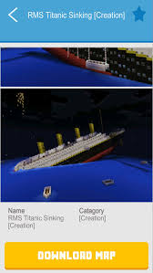 Minecraft Titanic Sinking Map by Cruise U0026 Ship Maps For Minecraft Pe Best Map Downloads For