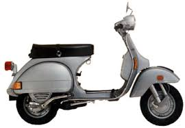The Vespa P Series Was Last Of Classic Vespas To Come Out Piaggios Factories Though Many Brand New Scooters Reaching American Shores