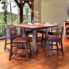 Inspiring Height Dining Table X Interesting Ideas Rustic Counter Sets Bright Inside Bar And Chairs Decorating