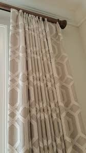 Blackout Curtains For Traverse Rods by Drapery Panels On Traverse Rod By Designer Mary Harwood Window