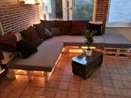 sitzauflagen paletten lounge chill sofa area sofa