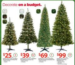 Walmart Christmas Tree Decorations Within Artificial Trees