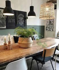 rustic modern dining room rustikaler holztisch esszimmer