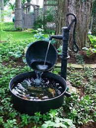 Water Feature Ideas | Beautiful | Pinterest | Water Features ... Outdoor Fountains At Lowes Pictures With Charming Backyard Expert Water Gardening Pond Pump Filter Solutions For Clear Backyards Mesmerizing For Water Fountain Garden Pumps Total Pond 70 Gph Pumpmd11060 The Home Depot Large Yard Outside Fountain Have Also Turned An Antique Into A Diy Bubble Feature Ceramic Sphere Pot Sunnydaze Solar Pump And Panel Kit 80 Head Medium Oput 1224v 360 Myers Well Youtube