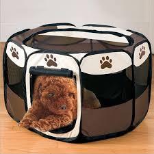tragbare faltbare haustier hund zelt haus für hunde indoor laufstall zelt kiste zimmer im freien wasserdichte welpen katzen zwinger octagon zaun