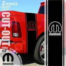 100 Ram Truck Decals 2019 For 1500 2500 3500 Bed Side Stripes Decal Sticker