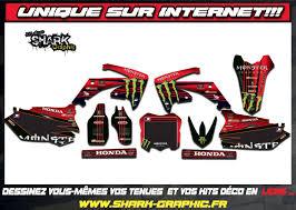 kit deco crf 250 unique kit deco et tenue moto 100 perso