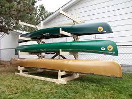 Build Wood Garage Shelf by Best 25 Canoe Storage Ideas On Pinterest Kayak Storage Kayak