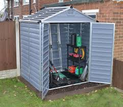 Shed Anchor Kit Instructions by Palram Skylight Anthracite Polycarbonate Shed 6x5 Gardensite Co Uk