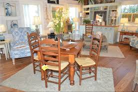 Tall Ladder Back Chairs With Rush Seats by French Country Ladderback Side Chairs Georgetown Rush Seats Chair