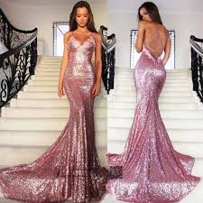 online get cheap pink strap lace mermaid prom dresses aliexpress