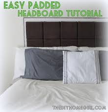 Cheap Upholstered Headboard Diy by Appealing Headboard Cushion Ideas Images Best Idea Home Design