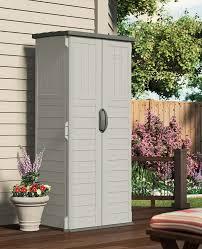 Suncast Horizontal Storage Shed 32 Cu Ft amazon com suncast bms1250 shed tool vertical 22 cu ft