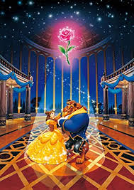 Amazon Tenyo DW 471 Disney Beauty and The Beast Jigsaw