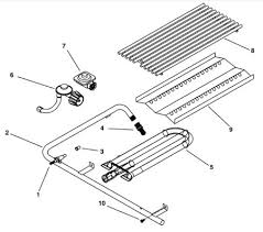 Patio Caddie Burner Shield by Grill Repair And Oci Parts Schematics For Searching Repair Parts